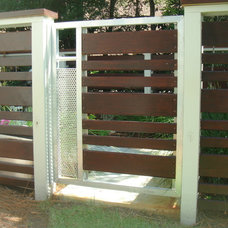Modern Home Fencing And Gates by Glover Design LLC