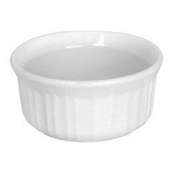 Ekco - Ekco French White 7-oz Ramekin (6 Pack) (6022472) - Ekco 6022472 French White 7-oz Ramekin