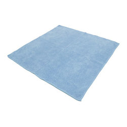 The Felt Store - Micro Fiber Cloth 16 x 16 Inch Light Blue - Superior quality compared to cheaper cloths found elsewhere! Save time, money and the environment with these unique Micro Fiber Cloths. Made of special material, which consists of thousands of tiny grooves. These hypo allergenic cloths easily pick up dirt, dust, oil and grease and are virtually lint free. The non-abrasive material allows for safe use on virtually all surfaces leaving a deep, clean, streak free result every time and often without the need of household chemicals! It measures 16 inches x 16 inches(406.4mm x 406.4mm).