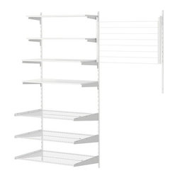 IKEA of Sweden - ANTONIUS 2sec/wall upright/desk top/dry rack - 2sec/wall upright/desk top/dry rack, white