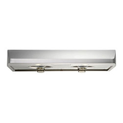 Kobe Range Hoods - Kobe CH2230SQ-1 30W in. CH122SQ Series Under Cabinet Range Hood Multicolor - CH2 - Shop for Hoods and Accessories from Hayneedle.com! Gently curved top softens the edges of this professional hood making it the perfect addition to your welcoming home kitchenQuietMode setting allows hood to operate at 300 CFM at a reduced sound level of 40 decibels (1.0 sone); other hoods operate at 6-8 sones at that CFM levelTime Delay System with 3-minute delay shutoff or immediate shutoffECO Mode runs the fan on the QuietMode setting for 10 minutes every hour removing excess moisture and microscopic particles that cause odors for cleaner fresher kitchen airTwo 3W LED lights with 3-level lighting for a bright safe cooking experienceInstead of filters has 4 easy-to-empty oil containers one attached to each safety screen under the fan and one behind each fanEasy-to-empty catch areas and smooth hood surface for deep cleaning without disassembling the hoodExhaust options: Top 6-inch round Top 3.25 x 10 inch rectangular or Rear 3.25 x 10 inch rectangularAbout KOBE Range HoodsA world leader in quiet kitchen ventilation Kobe Range Hoods are designed by the Japanese-based Tosho & Company Ltd. Their products feature revolutionary QuietMode technology inspiring their motto: So Quiet You Won't Believe It's On! The result of extensive research and development the innovative QuietMode feature allows you to operate your range hood without irritating fan noise while cooking or entertaining guests in the kitchen. Kobe Range Hoods has been providing quality products and exceptional customer service in the United States and Canada for over 40 years.