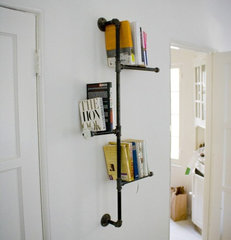 eclectic wall shelves by Etsy