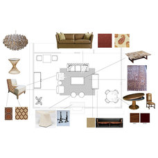 Eclectic Floor Plan by viney and p