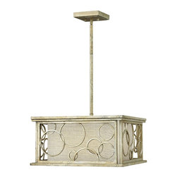 Hinkley Lighting - Flourish 3 Light Mini Chandelier - Hinkley Lighting's mission is simple: to bring you cool classics that suit the way you live today. Sophisticated yet comfortable, classic yet hip, worldly yet very close to home and with the perfect balance of style and taste, form and function. Hinkley Lighting manufactures each of its lighting fixtures from superior materials, distinctive designs and unparalleled craftsmanship.