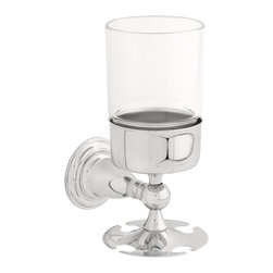 Delta Toothbrush/Tumbler Holder - 75056 - The Victorian Bath Collection adds an impressive element of distinction - and a touch of old-world charm - to any bath.
