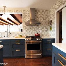 Transitional Kitchen by Joy Street Design