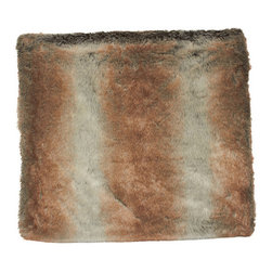 Faux Fur Throw, Brown - It's almost perfect: you're settled into your couch with a bowl of kettle corn and a steaming mug of hot chocolate ready on the coffee table. After an epic internal battle between charming rom com and a more challenging indie film, the movie's been chosen. But what are you going to curl up in? Get this incredibly cosy faux fur throw now, and be prepared.