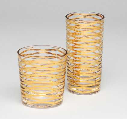 Contemporary Everyday Glasses by DwellStudio