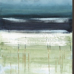 Artcom - Sea and Sky II by Heather Mcalpine - Sea and Sky II by Heather Mcalpine is a Stretched Canvas Print.