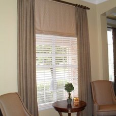 Traditional Window Treatments by Sally J. Designs