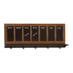 Amazing Wood Metal Shelf Hook - Description: