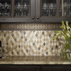 traditional kitchen tile by River City Tile Company