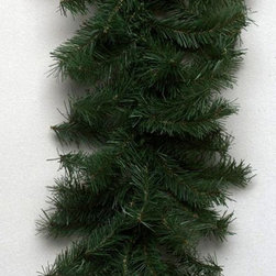 None - 50-foot x 10-inch Canadian Garland 200 Clear Lights,1320 Tips - This pretty pre-lit garland is made of dense faux Canadian fir,its twigs slightly bent and uneven to give it a natural and realistic appearance. Use it to decorate your porch or garage,or give a vehicle a festive holiday appearance.