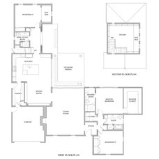 Traditional Floor Plan by JWT Associates