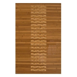 "Anji Mountain - Anji Mountain Bamboo Rugs Bath Mat 20"" x 72"" Area Rugs - Anji Mountain Bamboo Rugs Bath Mat 20"" x 72"" Area Rugs"