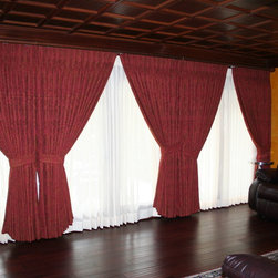 Mary Etta Designs Projects -Costa Mesa - Draperies with sheers