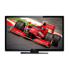 """Magnavox - 46""""LED HDTV, 1080P, 60Hz, 3-HDMI, 1-USB, PC, 1-Component - The Magnavox 46ME313/F7 46 In. 1080p LED HDTV with 3 HDMI and LED backlight enables you to enjoy visual media in stunning clarity with this LED HDTV that features 1080p resolution and Clear Pix X2 technology for crisp, detailed images. SRS TruSurround XT technology creates a virtual surround sound experience for lush audio and along with two 8W speakers delivers immersive audio with robust bass and crisp dialogue. Dolby Digital technology offers high-quality virtual surround sound with realistic spatial cues. VGA input provides a connector to accommodate input of an analog signal for use with a PC. The JPEG Photo Viewer displays photos stored on an external USB stick, letting you easily share memories with gathered family and friends. Plus fun-Link allows one remote control to operate your TV and TV-connected devices, including Blu-ray players and home theater systems."""