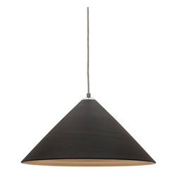 Call for our best prices! 1-800-547-9309 Colette Black Pendant Lamp - This pendant lamp by Nuevo is part of their Colette collection and comes in a black finish.