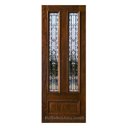Single Doors - N-101 Iron Classic 8 ft tall
