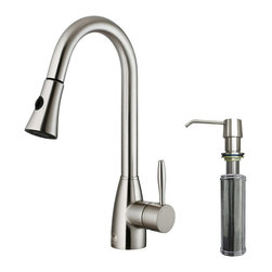 Vigo Industries - Kitchen Faucet with Dual Pull Out Powerful Spray - Maximize the functionality of your kitchen sink with a Vigo kitchen faucet. We design our faucets to meet your everyday needs.
