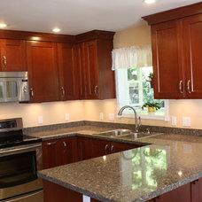Traditional Kitchen Countertops by Veneto Designs