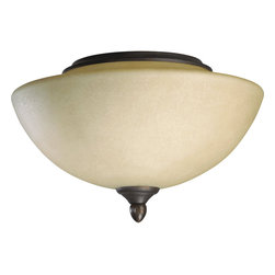 Quorum Lighting - Quorum Lighting Lone Star Ceiling Fan Light Kit X-4419-8832 - This item specified with candelabra sockets to comply with 2005 Energy Policy Act.