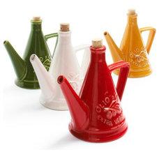Eclectic Oil And Vinegar Dispensers by Sur La Table