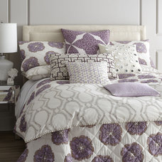 eclectic bedding by Horchow