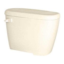 GERBER PLUMBING - Gerber Maxwell Toilet Tank 1.6 GPF Biscuit - Features: