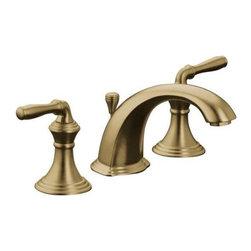 KOHLER - KOHLER K-394-4-BV Devonshire Widespread Bathroom Sink Faucet in Vibrant Brushed - KOHLER K-394-4-BV Devonshire Widespread Bathroom Sink Faucet in Vibrant Brushed Bronze