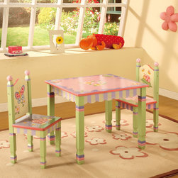 Use a Magical and Colorful Kids Table and Chairs -
