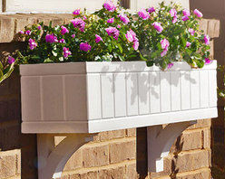 Blossom Window Boxes - At Flower Window Boxes we are helping to transform the window box industry as your affordable no rot solution to window box gardening. Our Blossom window boxes are made from a no rot PVC material that looks, paints, and feels identical to wood. Get the look of wood and avoid all the maintenance. Benefits include: