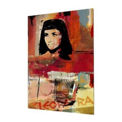 "Ready2HangArt - Ready2hangart Alexis Bueno Iconic 'Cleopatra' Acrylic Wall Art - Artist Alexis Bueno, takes you on a journey with this unique retrospective of the stars that affected Pop Culture through the past centuries with his series Iconic Art . This abstract rendition in acrylic art is offered as part of a limited ""Home Decor"" line, being the perfect addition to any contemporary space."
