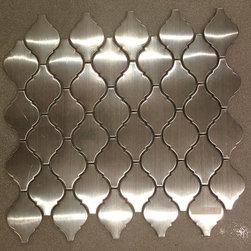 Arabesque Stainless Steel Tile -