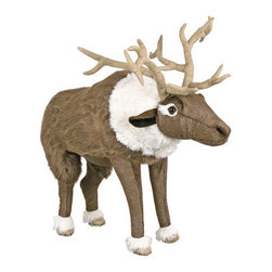 Plush Foot Stools - Reindeer -