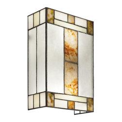 Joshua Marshal - Two Light Brushed Nickel Wall Light - Two Light Brushed Nickel Wall Light