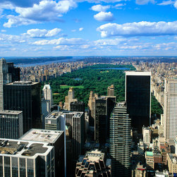 Murals Your Way - Midtown & Central Park from Rock Center Wall Art - Photographed by Andrew  Prokos, Midtown & Central Park from Rock Center wall mural from Murals Your Way will add a distinctive touch to any room