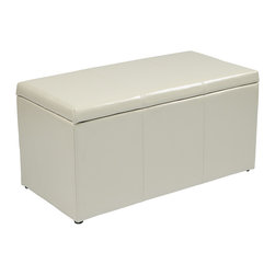 Office Star - Office Star Metro Hall Tree Bench - Features: