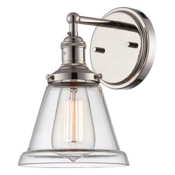 "Nuvo Vintage 1-Light 6"" Wall Sconce -"