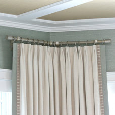 Beach Style Curtains by Finishing Touches