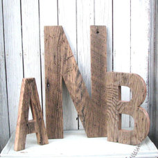 Contemporary Wall Letters by Etsy