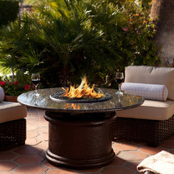 Fire Pits - Have your brunch or hors d'ourves in style with a California Outdoor Concepts fire pit, now at Fireside Expressions! Use coupon code HZ3 to save 3%!