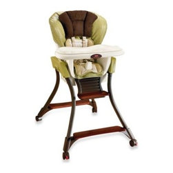 Fisher Price - Fisher-Price Zen Collection High Chair - This versatile and beautifully designed high chair has three adjustable heights for a custom fit, plus a three-position recline for even the youngest eaters. The feeding tray is removable for placing in the dishwasher, and the pad is machine washable.