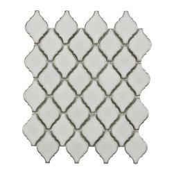 Arabesque Porcelain Tile Mosaic - Selene -