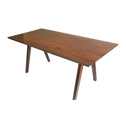 Moderncre8ve - Sputnik Midcentury Modern Solid Walnut Dining Table - Time to buy a real dining table?