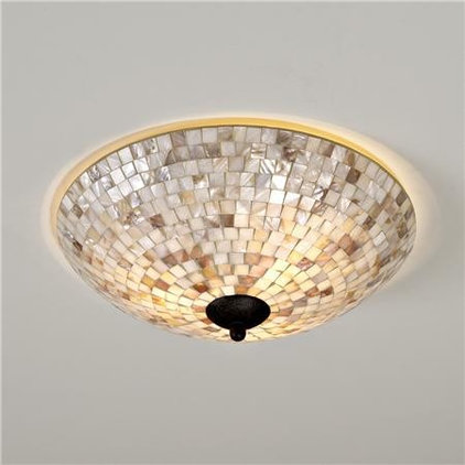 Ceiling Lighting Mother of Pearl Ceiling Light - Shades of Light