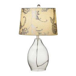 MIDWEST CBK - Metallic Floral Table Lamp 150W Max - Metallic Floral Table Lamp. 150W Max. Shop home furnishings, decor, and accessories from Posh Urban Furnishings. Beautiful, stylish furniture and decor that will brighten your home instantly. Shop modern, traditional, vintage, and world designs.
