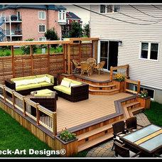 Modern Deck by Patio Deck-Art