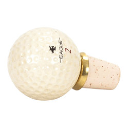 Unique Golf Ball Wine Stopper