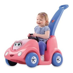 Step2 - Step2 Push Around Buggy Anniversary Edition in Pink - Celebrate the 10th anniversary of this adorable buggy with a new edition. Your child will love pushing and riding this buggy around.